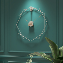 Wall-Clock Home-Decor Modern-Design Large Silent 50cm Europe for Office Hanging-Supplies
