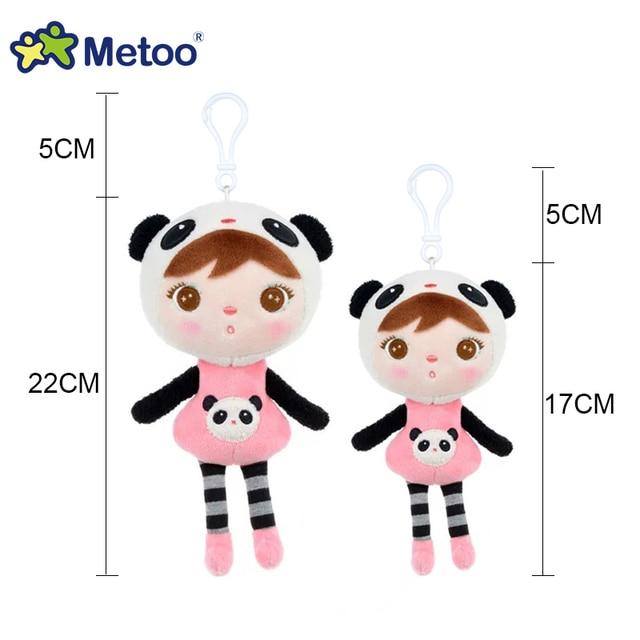 22 cm/17 cm Metoo Keppel baby girl Angela peluche muñeca para regalos de Navidad para niños/coche decoración de Juguetes