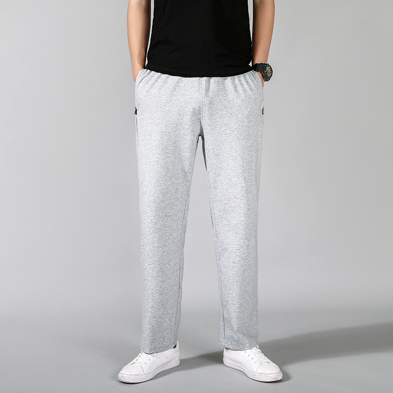 ELI22 New Men Sweat Pants Casual Fitness Joggers Leggings Mens Sweatpants Sportswear Compression Pants Breathable Long Trousers