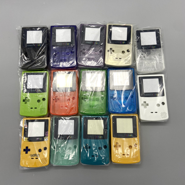 New shell kit for Gameboy COLOR GBC