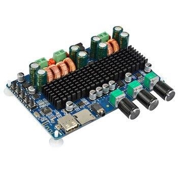 AIYIMA TPA3116 Bluetooth Amplifier Board 2x50W+100W Sound Amplifier Digital Subwoofer Amplifiers USB TF Decoding MP3 FLAC