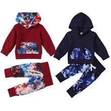 Комплект одежды для маленьких девочек одежда новорожденных мальчиков
