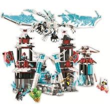цена на Ninjagoed Castle of the Forsaken Emperor Building Blocks Kits Bricks Classic Movie Ninja Model Kids Toys For Children Gift