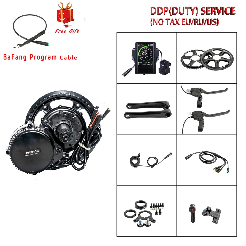 Meados de Manivela Kits de Motor Novo Design Bafang 8fun Bbs02b C965 Display Lcd Eletric Bicicleta Ebike Kits mm G320.750 48v750w –