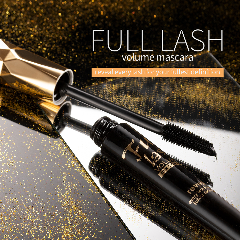 MENOW Fluffy Volume Mascara Makeup 4D Silk Fiber Lash Mascara Waterproof Rimel 3d Mascara Extension Thick Long Curling Eyelash