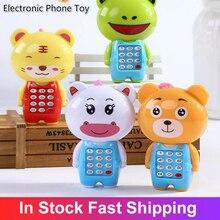 Электроника игрушка ребенок мобильный телефон телефон образование обучение игрушки музыка ребенок младенец телефон лучший подарок для малыша ребенка детей