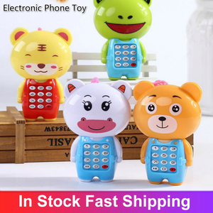 Electronic Toy Kid Mobile Phone Telephone Educational Learning Toys Music Baby Infant Phone Best Gift For Kid Enfant Children