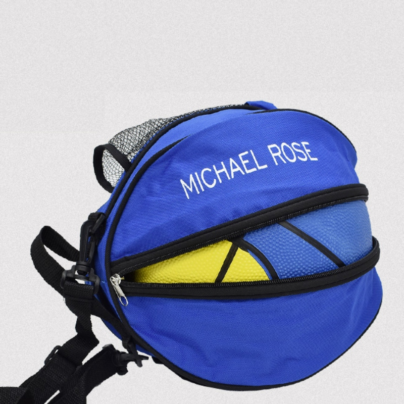 Adjustable Volleyball Basketball Football Shoulder Carry Bag Handbag New Universal Basketball Bag With 2 Mesh Bottle Holder