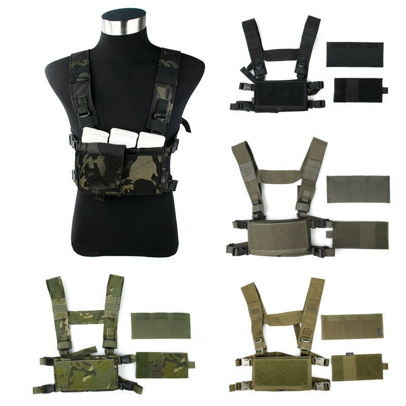 TMC Hunting Lightweight Tactical Vest Modular Chest Rig BK/KK/MCBK/MTP/MCBK