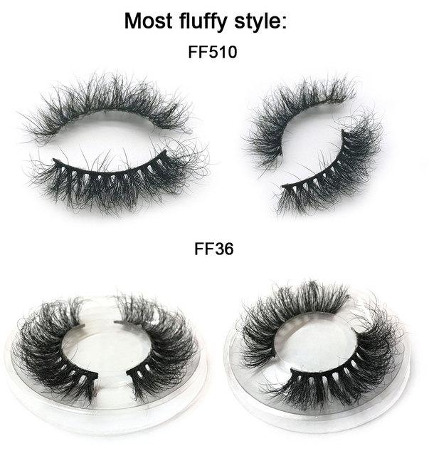 Mink Lashes 3D Mink Eyelashes 100% Cruelty free Lashes Handmade Reusable Natural Eyelashes Popular False Lashes Makeup 1