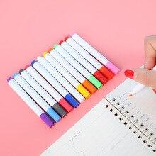 P528 Жидкий Мел без пыли многоцветная детская безопасная жидкость мел с изображением исписанной мелом доски кисть для граффити Детские мелки