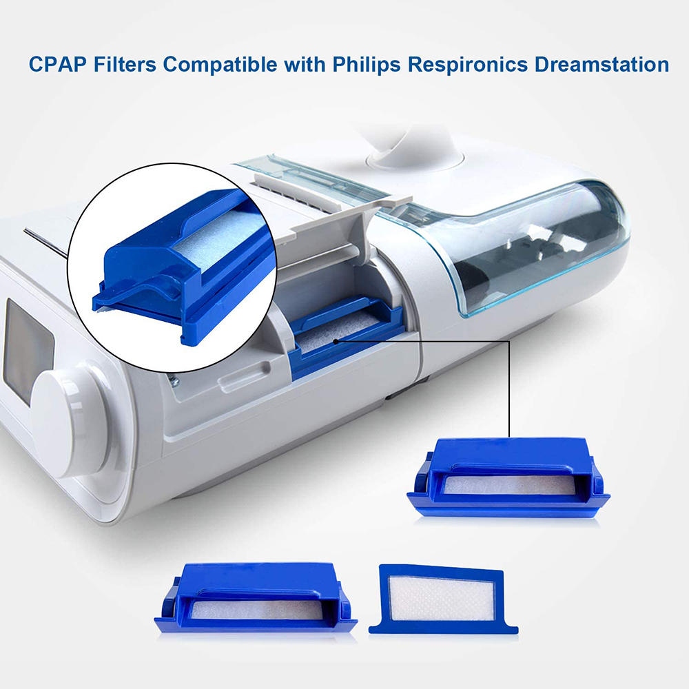 9Pcs CPAP-Filters For Philips-Respironics Dreamstation 3 Reusable Filters & 6 Disposable Ultra-Fine Filters Supplies Accessories