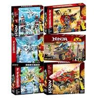 Blocos de construção ninja series  brinquedo infantil com compatível com lepining om 70677