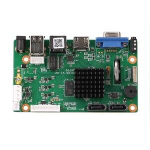 Image 2 - 32CH 4K Gesicht CCTV NVR Bord Hi3536 2 SATA Ports ONVIF Sicherheit Video Recorder Bord 32CH /4K/5MP/1080P Video Eingang 1CH Audio I/O