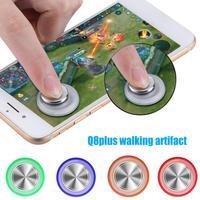 Jogo redondo joystick rocker do telefone móvel para ios android tela de toque joystick clip on braçadeira para o telefone inteligente móvel tablet arcada|Rodas de videogame|Eletrônicos -