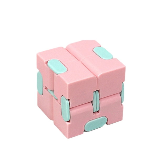Magic Infinity Cube Decompression Toy for Children Adult Stress Relieve Toys Flip Cubic Puzzle Anti-anxiety Cube Toy Autism Gift 2