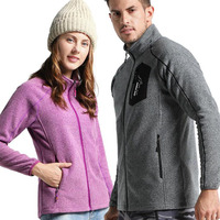 Men Women Outdoor Winter Polar Fleece Jacket Thicken Thermal Windproof Warmlock Outerwear Climbing Hiking Skiing Sports Clothing