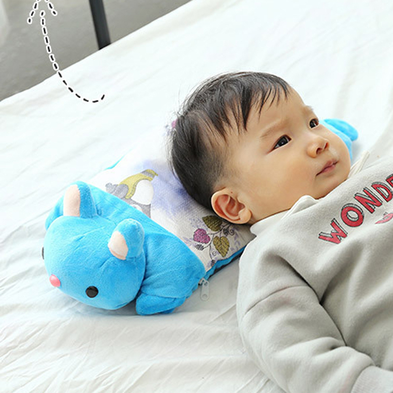 Cotton Blend  Weeping Willow 0-6 Years Old Ice Silk Baby Summer Soft Pillow Full Set Cartoon Design Baby Weeping Willow