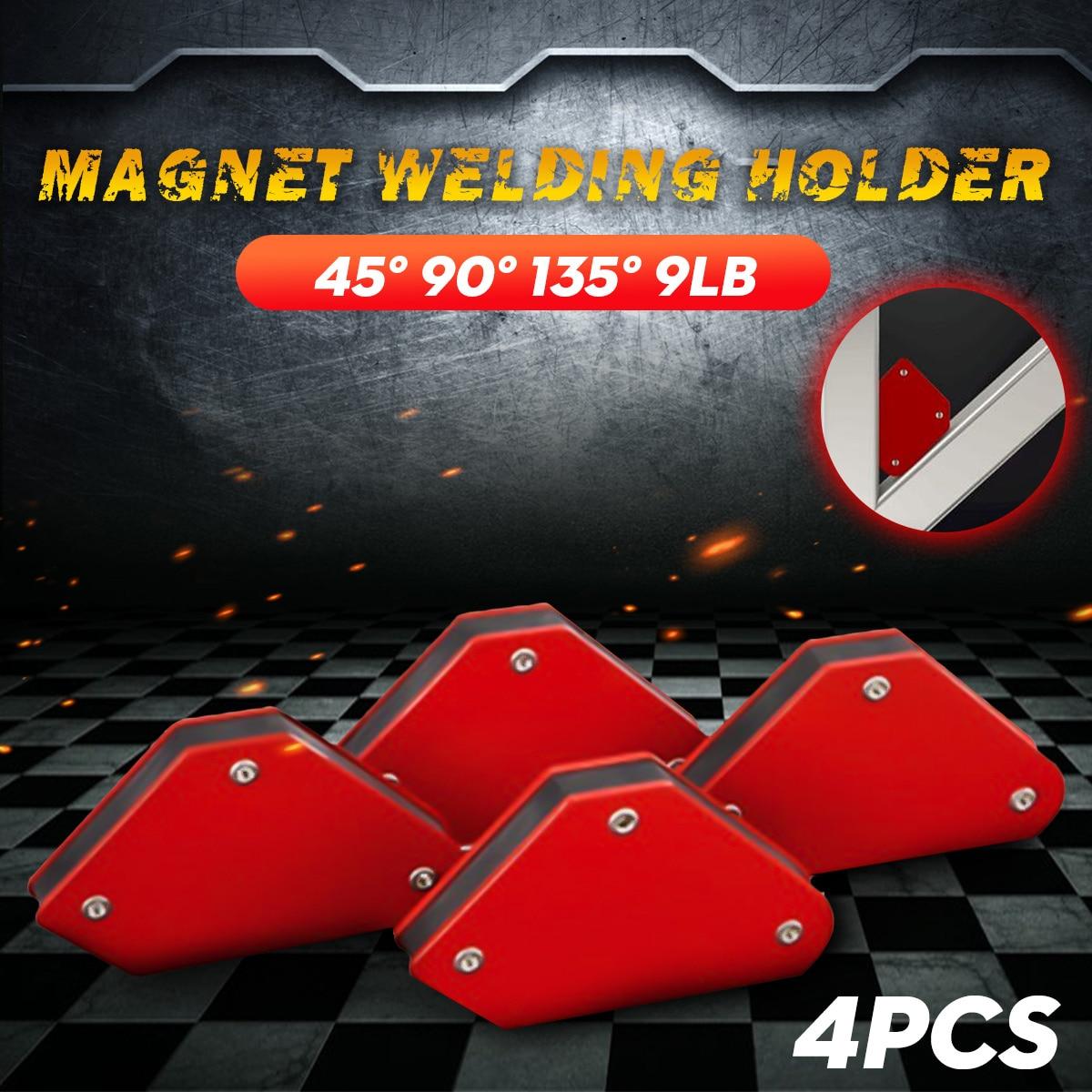 PCS Welding Magnet Magnetic Square Welder Holder Arrow 135° 90° Clamp 45° S0G7