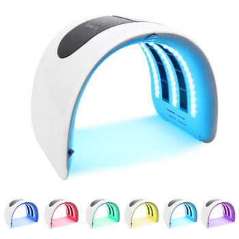 7 Colors PDT LED Light Photon Therapy Facial Mask Skin Rejuvenation Beauty Therapy Machine Acne Remover Anti-Wrinkle Skin Care 7 colors led light therapy mask photon led therapy facial mask beauty spa skin rejuvenation wrinkle acne remover face care tool
