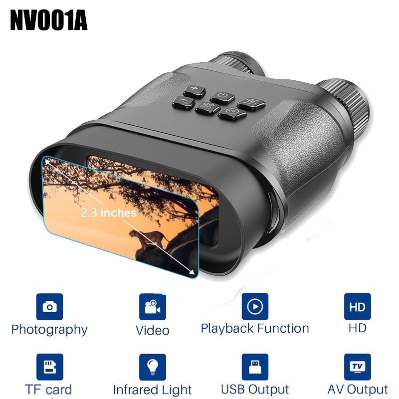 NV001A 2 3 Inch Large Screen HD Digital Night Vision Binoculars Image  amp  Video Recording Infrared Camera for Night Hunting Patrol