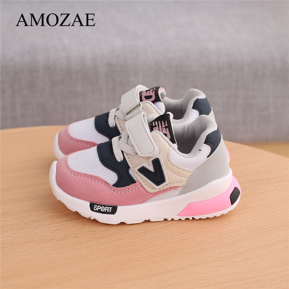 Spring Autumn Kids Shoes Baby Boys Girls Children's Casual Sneakers Breathable Soft Anti-Slip Running Sports Shoes Size 21-30 1