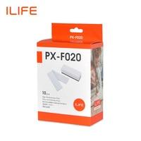 Ilife a4s a8 a6 10 pces kits de substituição do bloco de filtro para o vácuo do robô PX F020|side brush|vacuum filter|filter vacuum -