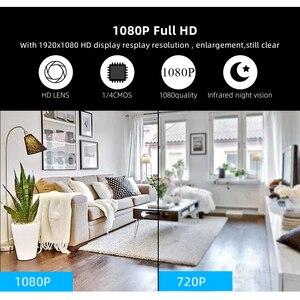 Image 5 - Small P2P Full HD1080P Mini Wireless WIFI IP Camera Night Vision Mini Camcorder for Home office Security CCTV Micro Camera v380
