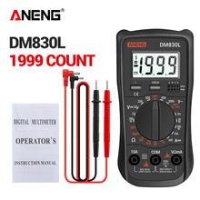 Aneng dm830l Цифровой мультиметр измеритель тестеров 1999 граф