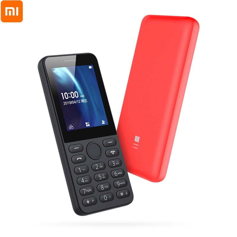 Xiaomi QIN QF9 AI Phone 4G Network Wifi 1820mAh BT 4.2 Infrared Remote Control Dual SIM Card Feature Phone