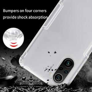 Image 3 - Nillkin – Coque de téléphone en Silicone souple pour Xiaomi POCO F3, 5G, 0.6mm, fine, transparente, Funda