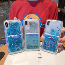 Dynamic Water Liquid Phone Case For iPhone