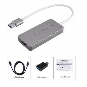 Image 4 - USB 3.0 1080P HDMI كابل فيديو بطاقة التقاط الصوت والفيديو تسجيل لعبة بث مباشر البث ل PS3 PS4 XBOX ONE صندوق التلفزيون ويندوز ماك OBS