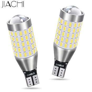 JIACHI 100PCS  LED T15 Wholesale car lamp T16 W16W 921 LED CANBUS OBC Error Free LED Backup Light Reverse Lamp White DC 12-24V