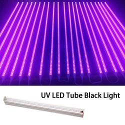 УФ светодиодный черный свет флуоресцентная светодиодная уф трубка черный свет эффект света для Хэллоуина вечеринки баров