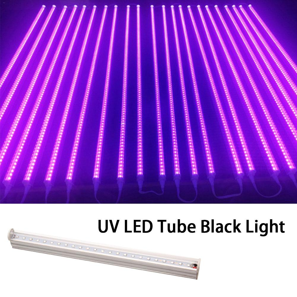 UV LED Black Light Fluorescent UV LED Tube Black Light Effect Light For Halloween Parties Bars