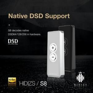Image 3 - Hidizs S8 אוזניות מגבר HiFi פענוח USB סוג C DAC כדי 3.5MM מתאם שוכר DAC Amp עבור טלפונים/מחשב נייד אודיו החוצה
