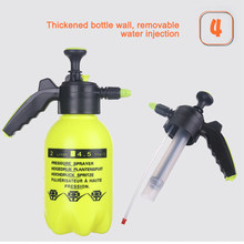 AOZBZ 2L Adjustable Hand Operated Snow Foam Sprayer Foam Cannon Foam Nozzle Foam Generator Durable for Car Wash Window Cleaning(China)