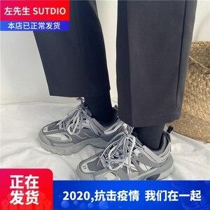 Гонконгский стиль; женская и мужская обувь в стиле ретро; модная обувь для студентов на толстой подошве; оригинальный стиль; универсальная о...