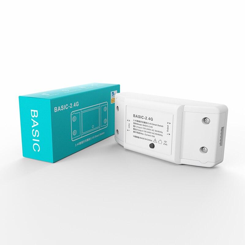 Переключатель изменение BASIC-2.4G умный дом RM 2,4G умный переключатель модификации модуль протокол Bluetooth приложение EWeLink Управление