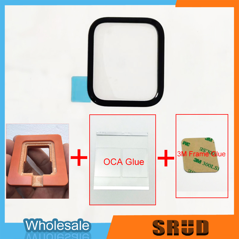 Good Quality Outer Glass Replacement For Apple Watch 1 2 3 4 5 38mm 40mm 42mm 44mm LCD Touch Screen Repair Parts