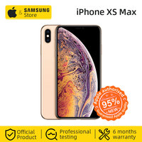 Unlocked Original Apple iPhone XS Max 512GB 6.5 inch Full Screen Smartphone Dual 12MP Wide and Telephoto cameras (Used 95% New)