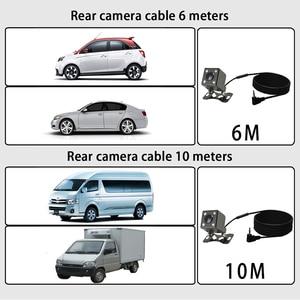 Image 2 - dvr dash camera dash cam car dvr mirror dual lens rear view camera rearview dashcam auto recorder video full hd front and rear