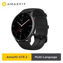 2020 nouvelle Amazfit GTR 2 Smartwatch 14 jours d'autonomie 326ppi AMOLED affichage musique 5ATM contrôle du temps confiant surveillance du sommeil