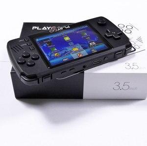 Image 5 - WOLSEN Playgo a amélioré 3.5 pouces IPS rétro Console de jeu vidéo portable intégrée 16GB carte SD 64 bits émulateur console pour PS1 GBA