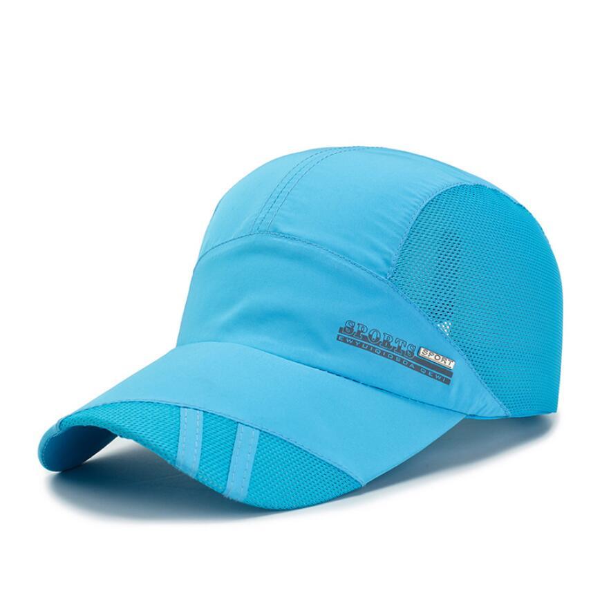 2Pcs Frauen Männer Hut Gebogene Sonnenblende Licht Bord Einfarbig Baseball Kappe Im Freien Sonnenhut Verstellbare Sport kappen in sommer - 5
