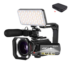 Video Camera 4K Camcorder Full HD ORDRO AC3 WiFi Night Visio