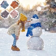 Детские Утепленные зимние хлопковые перчатки с закрытыми пальцами