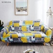 Elástico funda completa para sofá para la sala de diseño Vintage único amor 3 4 plazas sillón en forma de L funda de sofá seccional elástica