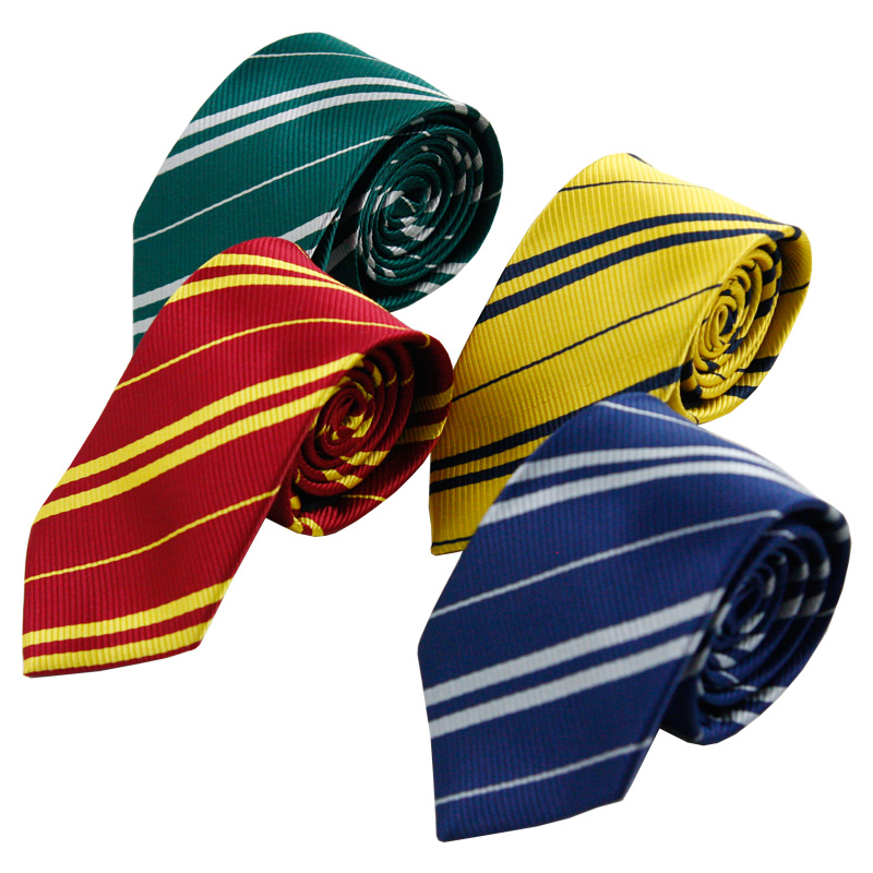 College Tie Gryffindor / Slytherin / Hufflepuff / Ravenclaw   Tie Halloween Characters Play Costume Kids Party Dress Up